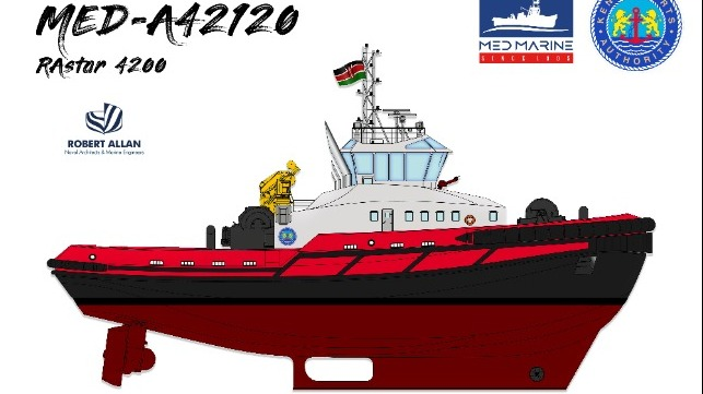 Med Marine Inks Deal With Kenya Ports to Build the Biggest Tugboat
